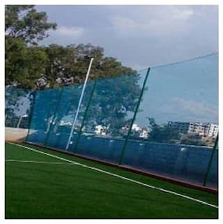 AMZ Standard Cricket Practice/Training Net Blue 1 Side (10ftx50ft)