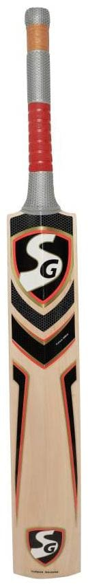 Aneesh&Sons SG Cobra Gold Popular Willow Cricket Bat ( For Tennis Ball ) Size - SH ( For Age 15 Plus )