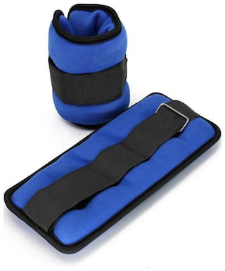 ANKLE WEIGHTS FOR LEGS & WRIST EXERCISE PAIR OF 1 kg