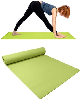MARKETWALA Assorted Foam & Pvc Yoga mat - 1 pc