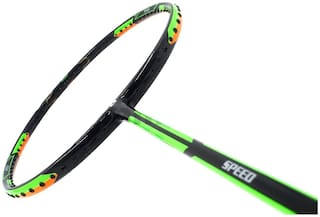 Apacs Dual Power And Speed  Black Unstrung Badminton Racquet