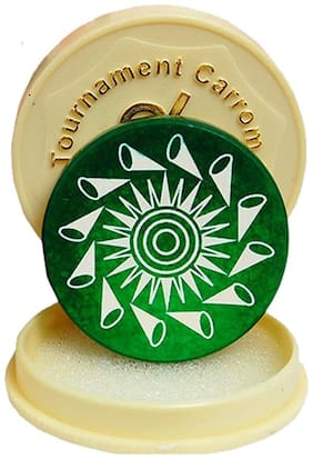 Aramedos  Standard Size Carrom Tournament Striker Combo with Smooth Surface and Excellent Re-Bounce