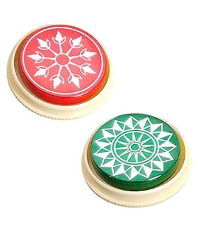 Aramedos Standard Size Carrom Tournament Striker with Smooth Surface and Excellent Re-Bounce 100% Original (Set of 2 )