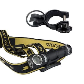 Armytek Wizard v3 XP-L CW Rechargeable Headlamp w/Battery Included +Bike Mount
