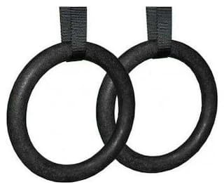 arnav Gymnastics Rings/Roman Ring with Straps & Buckles for Cross Fitness Functional Training and Total Body Conditioning at Home (Imported)