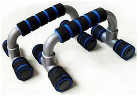 Arnav Imported I Type Push Up Bars/Stand  with Form Grip Double Colour
