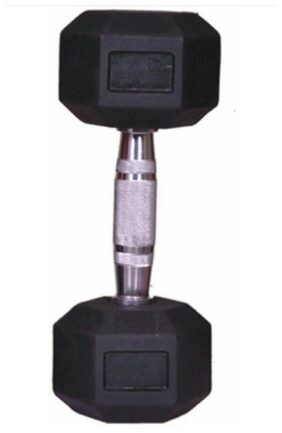 arnav Imported Rubber Coated Fixed Weight Hexagon Dumbbell One Pcs of  4 kg for Home Gym and Fitness