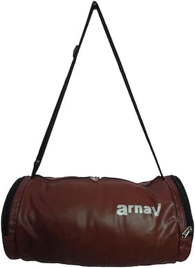 "Arnav Leather Fitness bag & Travel duffel bag - 51 cm (20"")"