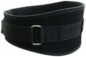 Arnav Leather Gym belt ( L   Black )