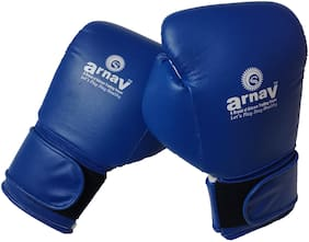 Arnav Punching glove - Blue , White , 1 pc