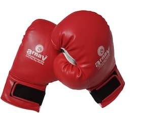 arnav PVC Boxing Gloves with Cotton Filled