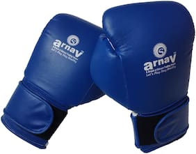 Arnav Punching glove - Blue & White , 1 pc