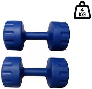 Arnav Plastic Dumbbell Set ( Set of 2 , 4000 g )
