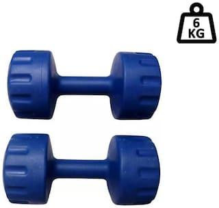 Arnav Plastic Dumbbell ( Set of 2 , 6000 g )