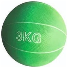 arnav Rubber Gym Medicine Ball Exercise Soft  No Boz Yoga Cross Fit Gym Training Fitness 3 kg