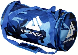 "ARNAWALI SPORTS Fabric Fitness bag & Travel duffel bag - 46 cm (18"")"