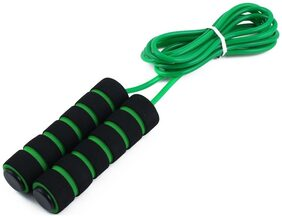 Aryshaa Sports Exercise Anti Skid Handle Ultra Speed Skipping Jump Rope (Pack of 1) Assorted Colors