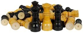 AS HASIMWAR WOODEN CHESSMEN- 100% BEST QUALITY
