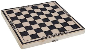 """AS MAGNATE MIND WATCH BEST WOODEN CHEES BOARD (SIZE - 12"""") WITHOUT CHESSMEN"""