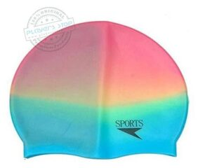 AS PLATINIUM BEST QUALITY MULTI-COLOR SWIMMING CAP (COLOR MAY VERY)