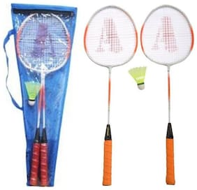 AS - SMASH Badminton Racket (Set of 02 pcs)