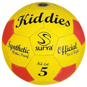 AS SURYA KIDDIES MULTI-COLOR FOOTBALL (SIZE - 5) (COLOR MAY VERY)