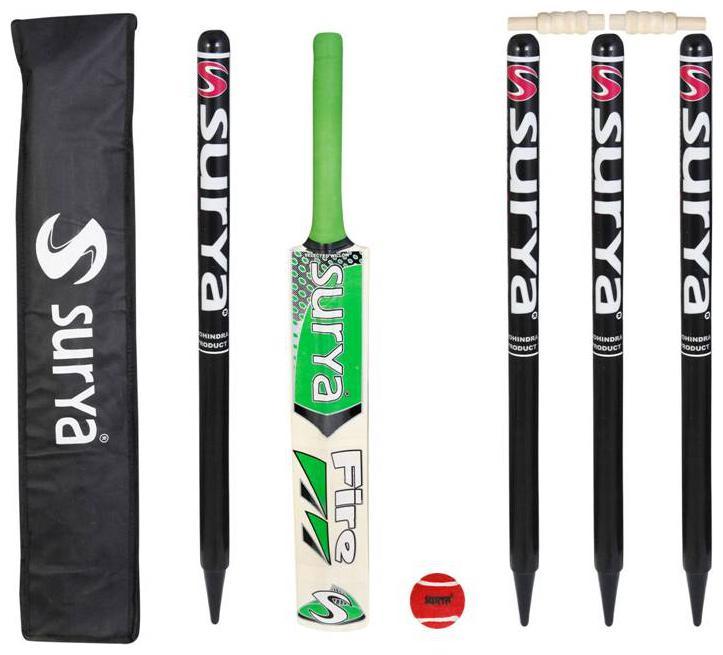 AS   Surya Soft Ball Cricket Kit  Full size