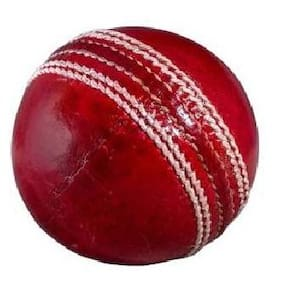 AS T-20 PREMIUM (4 PC) CRICKET LEATHER BALL ( PACK OF 1 BALL)
