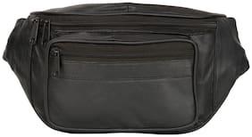 AspenLeather Black Pouch bag