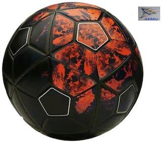Athlio Red & Black 5 Football