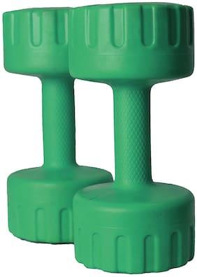 Aurion PVC Dumbbell Set ( Set of 2 , 5 kg )