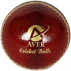 AVER SUNNY CRICKET LEATHER BALL