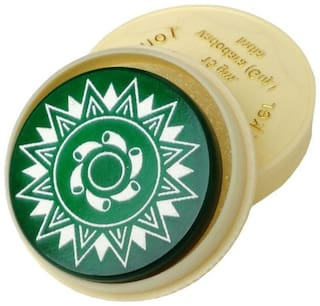 Azotica Standard Size Carrom Tournament Striker with Smooth Surface and Excellent Re-Bounce Green 1