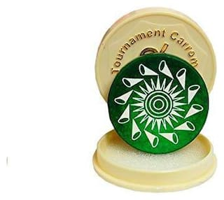 Azotica Standard Size Carrom Tournament Striker with Smooth Surface and Excellent Re-Bounce