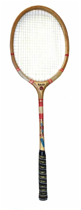 Ball Badminton Wooden racket Raja