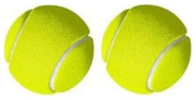 BALL,CRICKET BALL,TENNIS BALL,GREEN COLOR,PACK OF 2