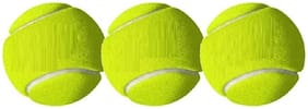 BALL,CRICKET BALL,TENNIS BALL,GREEN COLOR,PACK OF 3