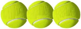 BALL,CRICKET BALL,TENNIS BALL,GREEN COLOR,PACK OF 3