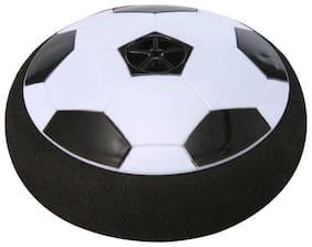 Ball - Floating Disc With Lighting Effects Football Football (Pack of 1, Multicolor)