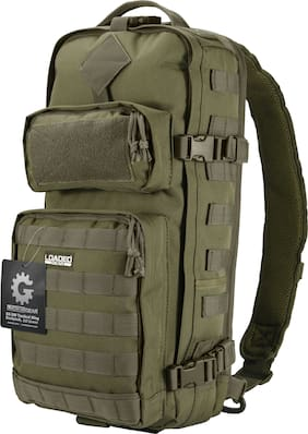 Barska Loaded Gear GX-300 OD Green Outdoor Hiking Camping Backpack Bag BI12326