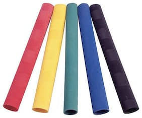 Beast Qwality Cricket Bat Toe Grips Assorted Colours, Full Size (Pack Of 10)