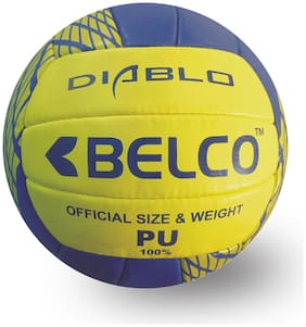 BELCO Sports Diablo 100% PU Volleyball Size 4