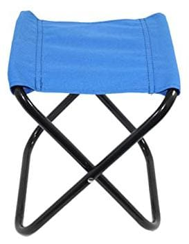 Benison India Outdoor Mini Folding Chair Portable Stool for Camping Fishing Party BBQ Travel Hiking Beach Garden Waterproof Cloth Folding Lightweight
