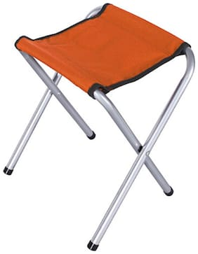 Benison India Super Strong Heavy Duty Outdoor Folding Chair/Stool Hold up to 650 lbs(Set of 2)