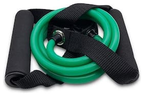 Best in Class Toning Tube/Resistance Tube for Fitness Workout - Medium- Green