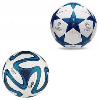 best quality pvc football pack of 2 size 5