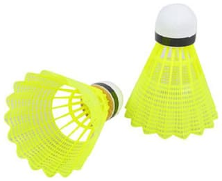 Best qwality Badminton Plastic Shuttlecocks Nylon Shuttlecoks (Pack Of 12)