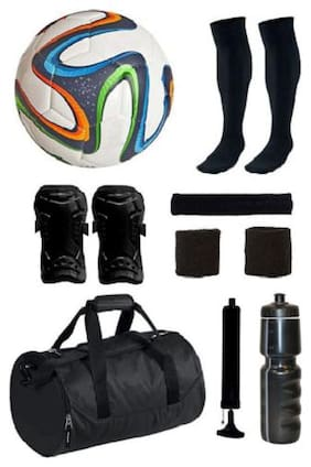 Best Qwality Combo of Multicolor Brazuca Football & 7 Other