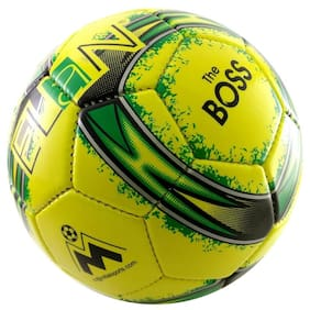 Best Selling High Quality Official Size Elan Lara Foootball Sports Ball Yellow