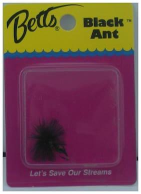 Betts PA8-9 Perfect Black Ant Black #8 12764